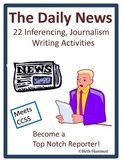 Daily News Writing: 22 Inferencing, Journalism Writing Activities