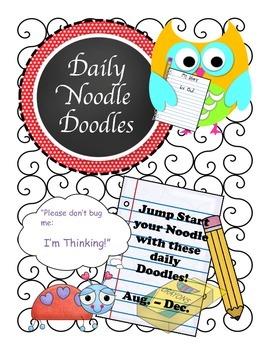 Daily Noodle Doodle Warm Ups Book 1 (Aug. - Dec.)