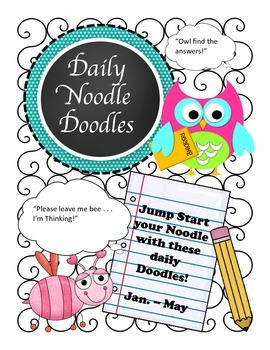 Daily Noodle Doodle Warm Ups Book 2 (Jan. - May)