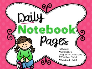 Daily Notebook Pages