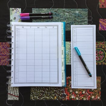 Daily Notepad for Busy Educators