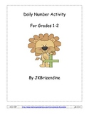Daily Number Activity (Grades 1-2)
