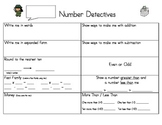 Daily Number Detectives