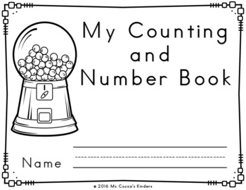 Number Writing Practice Book 1-20