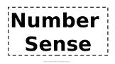 Daily Number Sense