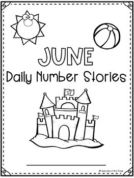 Daily Number Stories JUNE {5 themed weeks!}