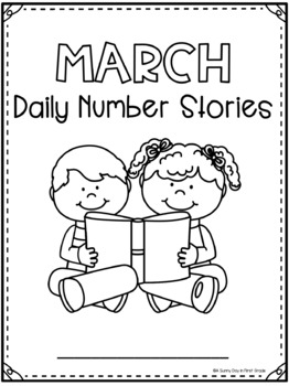 Daily Number Stories MARCH {5 themed weeks!}