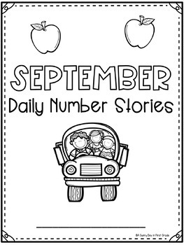 Daily Number Stories SEPTEMBER {5 themed weeks!}