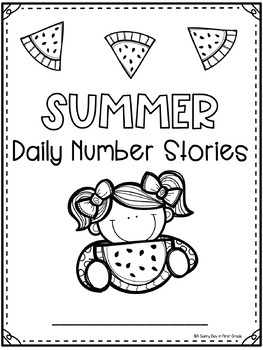 Daily Number Stories {Summer Freebie!}