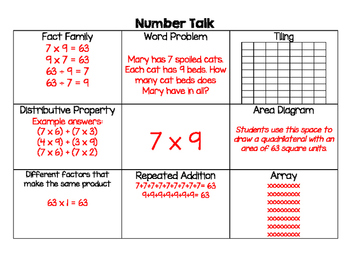 Daily Number Talk