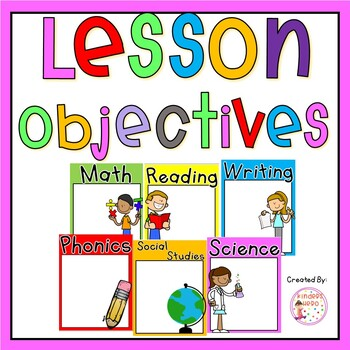 Daily Objective/Teaching Focus