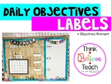Daily Objectives Labels