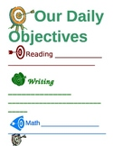 Daily Objectives Poster