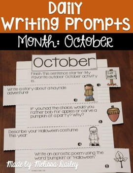 Daily Writing Prompts {October}