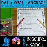 Beginning of the Year Daily Oral Language Worksheets