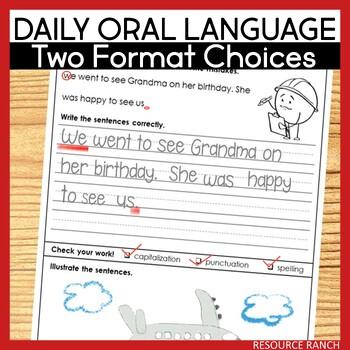 Daily Oral Language Bundle
