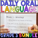Daily Oral Language (DOL) BUNDLE: Aligned to the 3rd Grade CCSS • GOOGLE