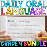 Daily Oral Language (DOL) BUNDLE: Aligned to the 4th Grade CCSS • with GOOGLE