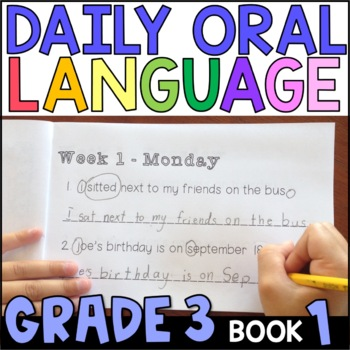 Daily Oral Language (DOL) Book 1: Aligned to the 3rd Grade CCSS