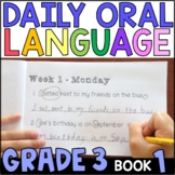 Daily Oral Language (DOL) Book 1: Aligned to the 3rd Grade CCSS • with GOOGLE