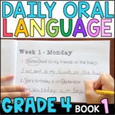 Daily Oral Language (DOL) Book 1: Aligned to the 4th Grade CCSS • with GOOGLE