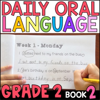 Daily Oral Language (DOL) Book 2: Aligned to the 2nd Grade CCSS