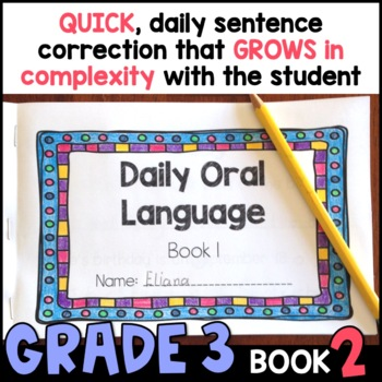 Daily Oral Language (DOL) Book 2: Aligned to the 3rd Grade CCSS
