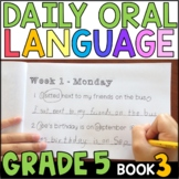 Daily Oral Language (DOL) Book 3: Aligned to the 5th Grade CCSS