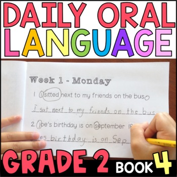 Daily Oral Language (DOL) Book 4: Aligned to the 2nd Grade CCSS