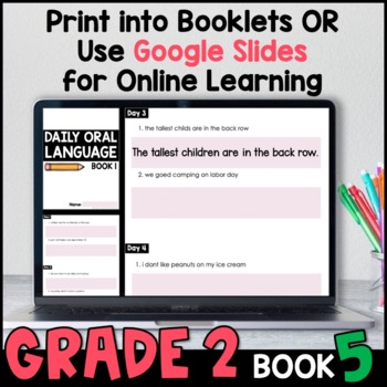 Daily Oral Language (DOL) Book 5: Aligned to the 2nd Grade CCSS
