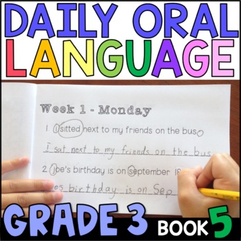 Daily Oral Language (DOL) Book 5: Aligned to the 3rd Grade CCSS