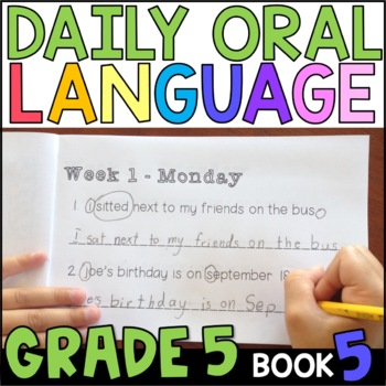 5 A Day Language Review Week 5 Answer Key Worksheets