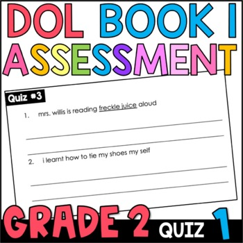 Daily Oral Language (DOL) Quiz Set #1: Aligned to 2nd Grade Common Core