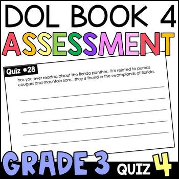 Daily Oral Language (DOL) Quiz Set #4: Aligned to 3rd Grad
