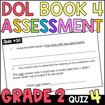 Daily Oral Language (DOL) Quiz Set #4: Aligned to 2nd Grade Common Core