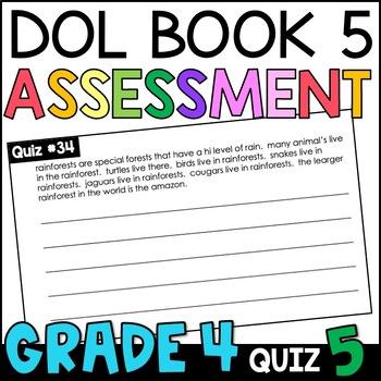 Daily Oral Language (DOL) Quiz Set #5: Aligned to 4th Grade Common Core
