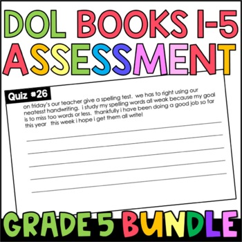 Daily Oral Language (DOL) Quiz Set BUNDLE: Aligned to the