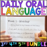 Daily Oral Language (DOL): Intermediate MEGA BUNDLE {Grades 3, 4, and 5}