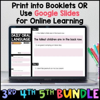 Daily Oral Language (DOL): Intermediate MEGA BUNDLE {Grades 3, 4, and 5}