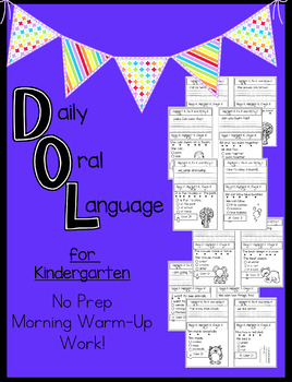 Daily Language For Kinder:  NO Prep daily review.