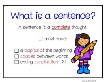 Sentence Fix-its - Daily Practice for a Rainforest Theme