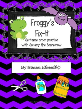Daily Oral Language - Froggy's Fix-it! Batty Sentences!