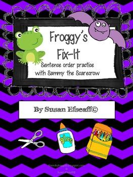 Daily Oral Language - Froggy's Fix-it! Batty Sentences!