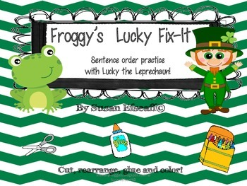 Sentence Writing - Daily Oral Language Lucky the Leprechaun