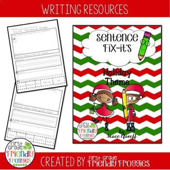 Daily Oral Language - Froggy's Fix-it! Santa and the Elves!