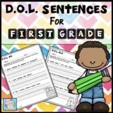Fix it Up Sentences Daily Oral Language 1st Grade