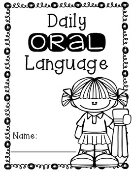 Daily Oral Language Journal Covers