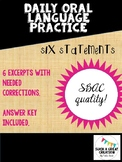 Daily Oral Language Practice (High School)