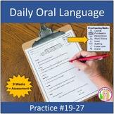 Daily Oral Language Practice Weeks 11-17