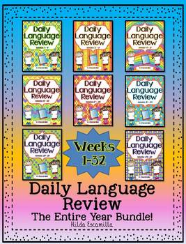 Daily Language Review * Weeks 1-32 * All Year Bundle